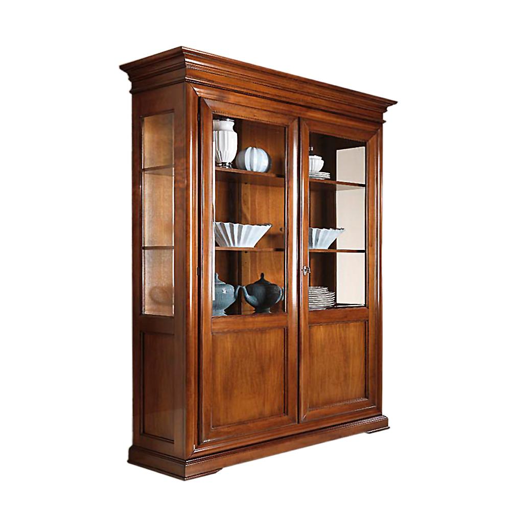 Vitrine italienischer stil elegante vitrine in for Kommode italienischer stil