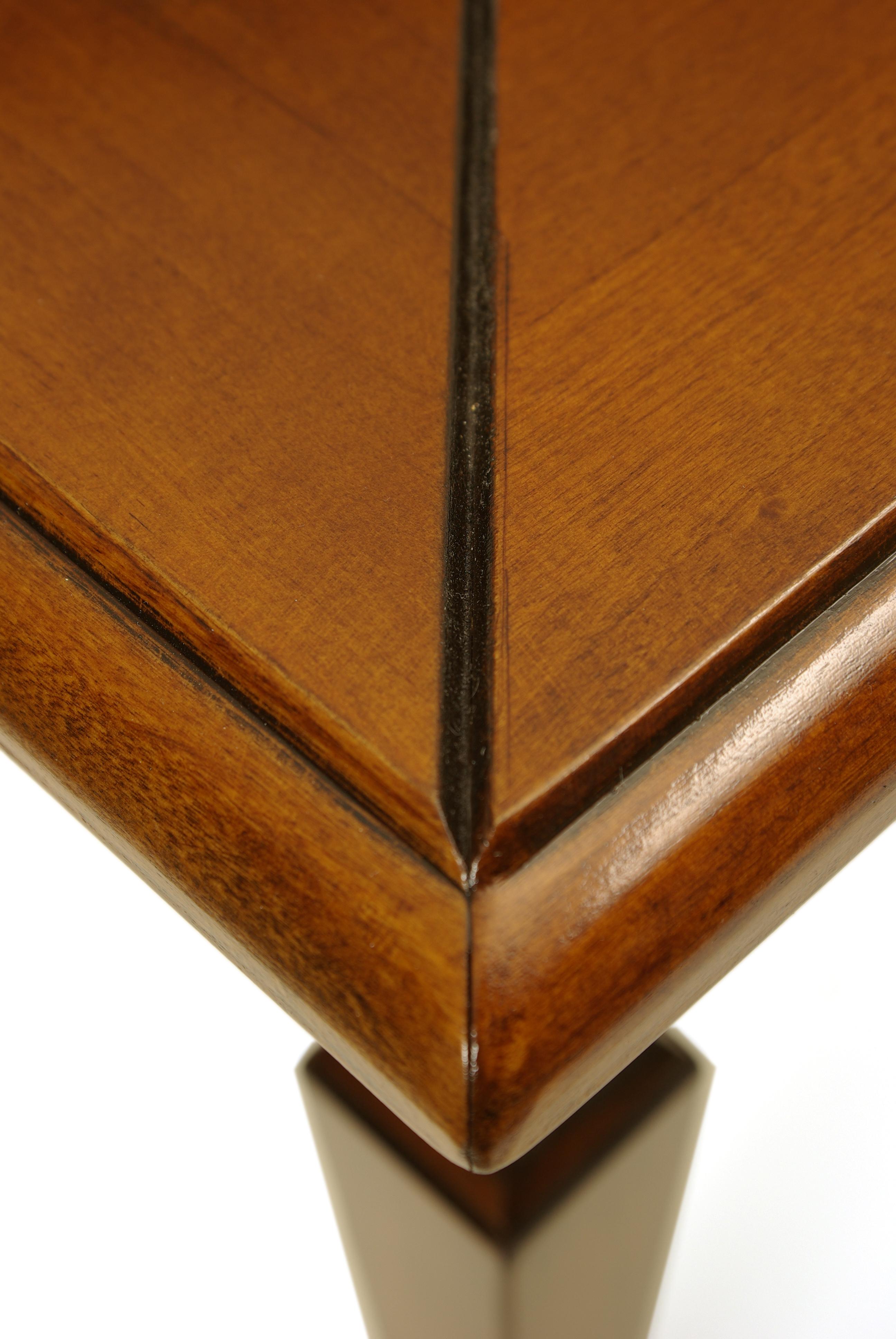 italienischer couchtisch ivano aus holz sofatisch. Black Bedroom Furniture Sets. Home Design Ideas
