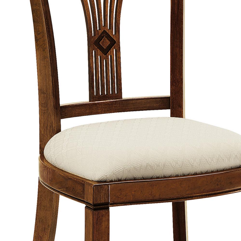 italienischer polsterstuhl villa arte povera. Black Bedroom Furniture Sets. Home Design Ideas