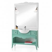 italienische Badezimmermöbel Larina Turchese von Arte Povera