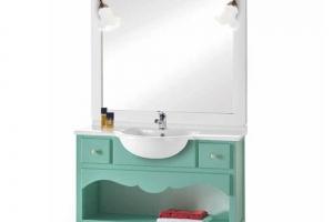 italienische Badezimmermöbel Larina von Arte Povera Turchese