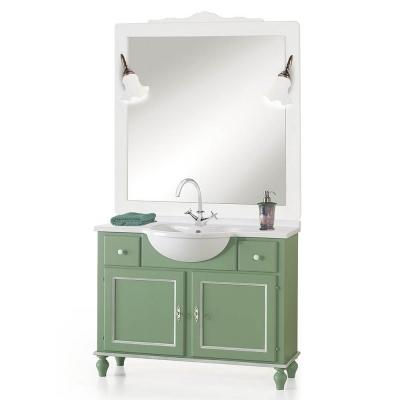 italienische Badezimmermöbel Sarna Verde von Arte Povera