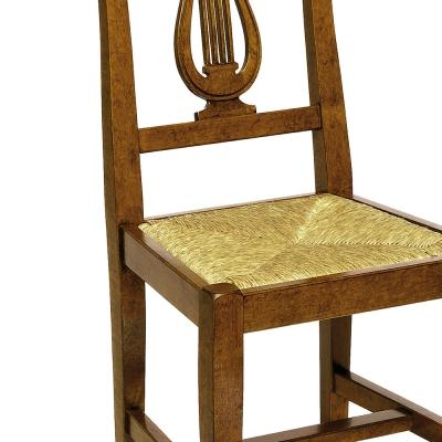 Esszimmerstuhl Lira mit Strohgeflecht von Arte Povera Nürnberg